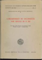 Settimana internazionale di studio (2nd : 1962 : Mendola